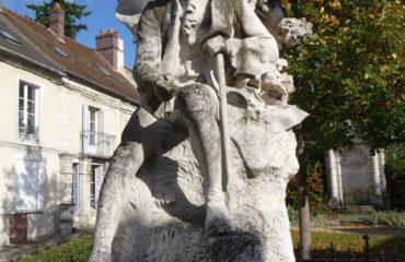 statue-Rousseau-Ermenonville